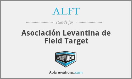 ALFT - Asociación Levantina de Field Target