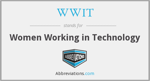 WWIT - Women Working in Technology