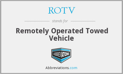 What does ROTV stand for?