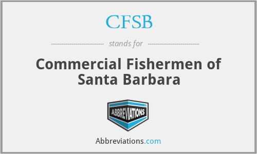 CFSB - Commercial Fishermen of Santa Barbara