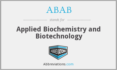 ABAB - Applied Biochemistry and Biotechnology