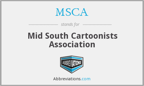 MSCA - Mid South Cartoonists Association