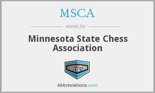 MSCA - Minnesota State Chess Association