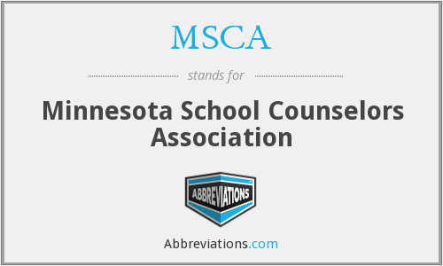 MSCA - Minnesota School Counselors Association