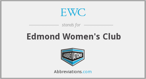 EWC - Edmond Women's Club