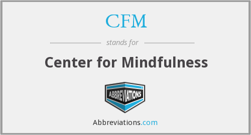 CFM - Center for Mindfulness