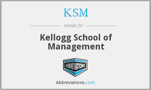 KSM - Kellogg School of Management