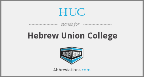 HUC - Hebrew Union College