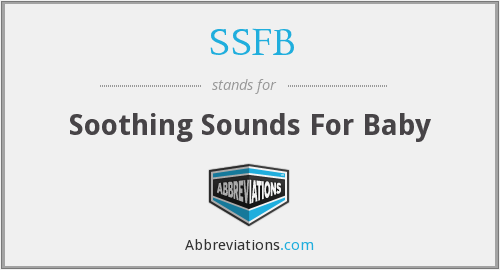 What does soothing stand for?