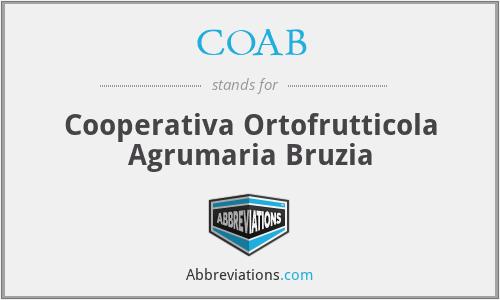 COAB - Cooperativa Ortofrutticola Agrumaria Bruzia