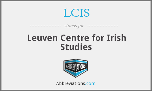 LCIS - Leuven Centre for Irish Studies