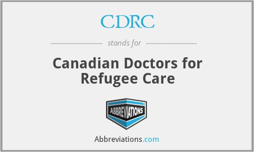 CDRC - Canadian Doctors for Refugee Care