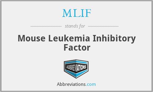 MLIF - Mouse Leukemia Inhibitory Factor
