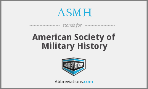 What does ASMH stand for?