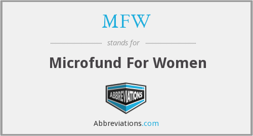 MFW - Microfund For Women