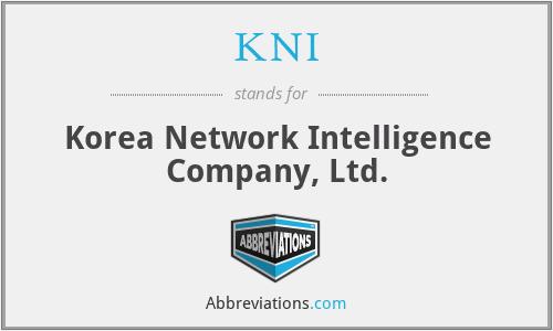 KNI - Korea Network Intelligence Company, Ltd.