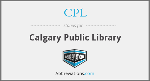 CPL - Calgary Public Library