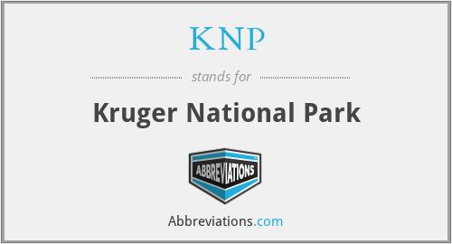 KNP - Kruger National Park