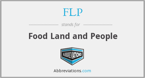 FLP - Food Land and People