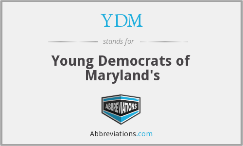 YDM - Young Democrats of Maryland's