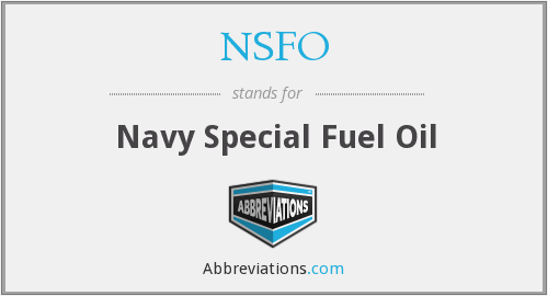 What does NSFO stand for?