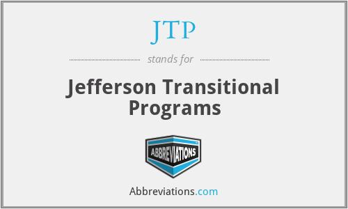 JTP - Jefferson Transitional Programs