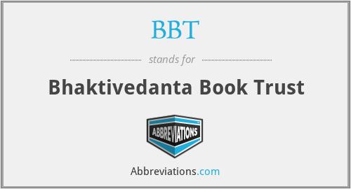 BBT - Bhaktivedanta Book Trust