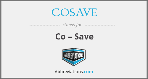 What does COSAVE stand for?