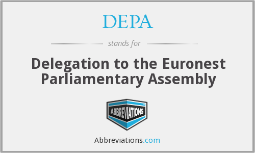 DEPA - Delegation to the Euronest Parliamentary Assembly