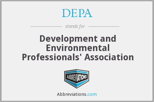 DEPA - Development and Environmental Professionals' Association