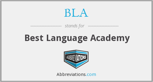 BLA - Best Language Academy