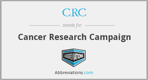CRC - Cancer Research Campaign