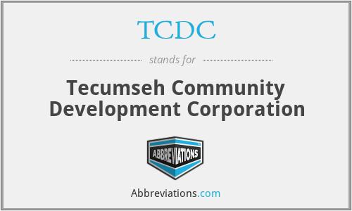 TCDC - Tecumseh Community Development Corporation
