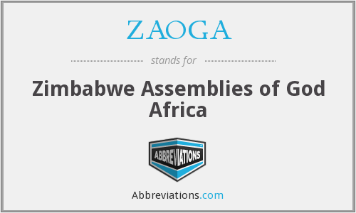 What does ZAOGA stand for?