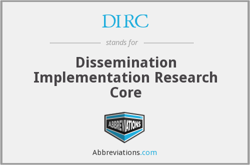 What does DIRC stand for?
