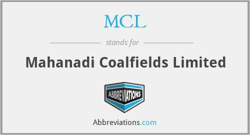 MCL - Mahanadi Coalfields Limited