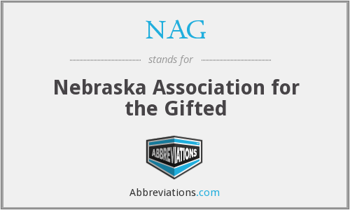 NAG - Nebraska Association for the Gifted