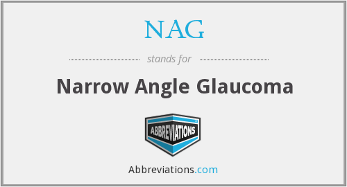 NAG - Narrow Angle Glaucoma