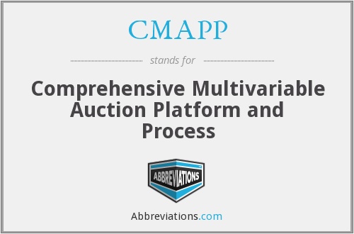 What does CMAPP stand for?