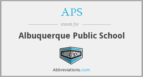 APS - Albuquerque Public School