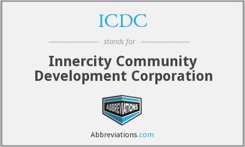 ICDC - Innercity Community Development Corporation