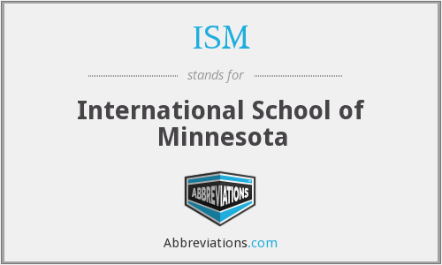ISM - International School of Minnesota