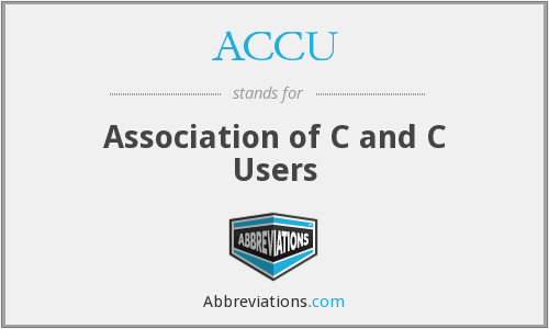 ACCU - Association of C and C Users