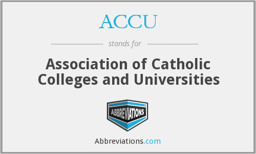 ACCU - Association of Catholic Colleges and Universities