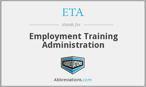 ETA - Employment Training Administration
