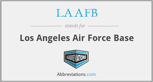 LAAFB - Los Angeles Air Force Base