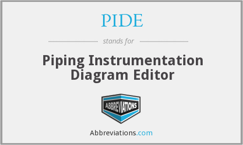 PIDE - Piping Instrumentation Diagram Editor