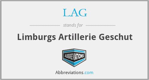 LAG - Limburgs Artillerie Geschut