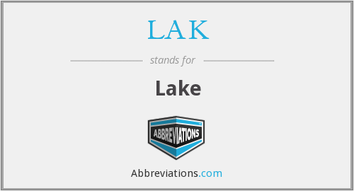 What does LAK stand for?