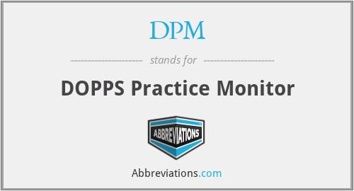 DPM - DOPPS Practice Monitor